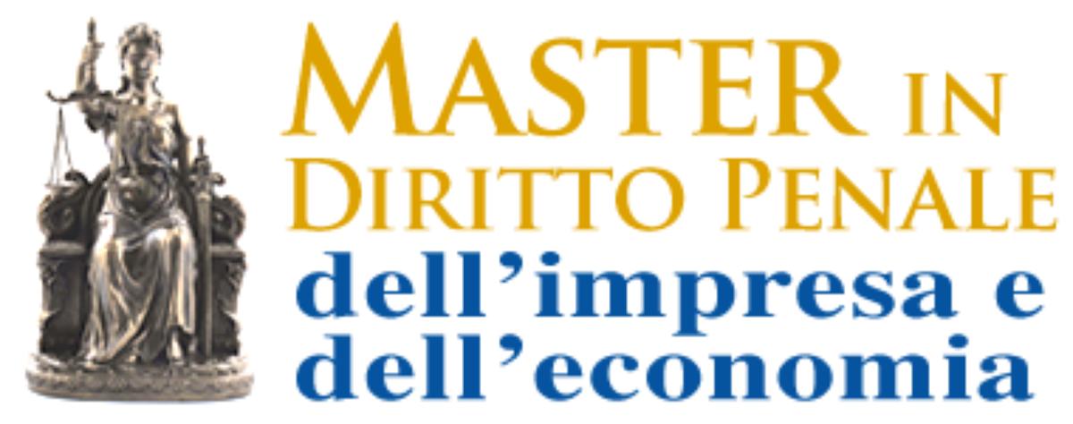 Logo Master in Diritto Penale dell'Impresa e dell'Economia